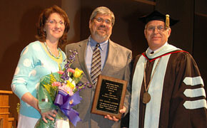 Rev. Addison awarded Mitchell ministry award
