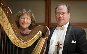 Harp and violin to make music together at SWU