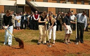 Groundbreaking at SWU