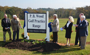 SWU dedicates golf practice range
