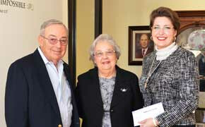 Richardsons add $25,000 to endowed scholarship benefiting deserving SWU students