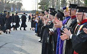 SWU celebrates graduates at winter ceremony