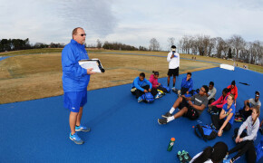 SWU runners take to new track