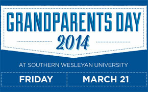 SWU students inviting grandparents to experience campus life