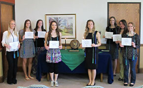 SWU inducts new Alpha Chi members