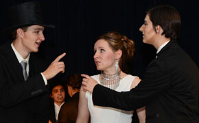 Home educators stage 'Pygmalion'