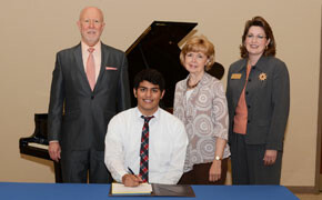 Morales receives Music scholarship