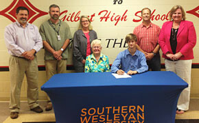 Swanson receives Music scholarship