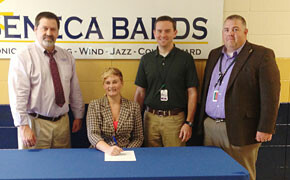 Parson receives Music scholarship