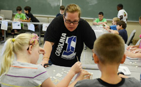 Camp at SWU shows learning science can be fun
