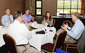 Business, community leaders 'do lunch' at SWU