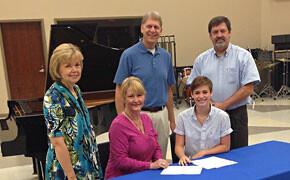 Lankford receives Music scholarship