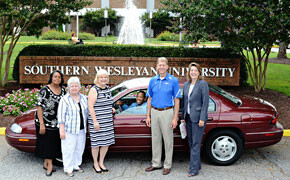 Car donation benefits SWU Call Me MISTER program