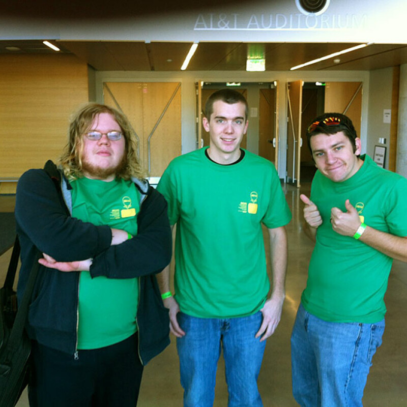 SWU programming team at regional competition