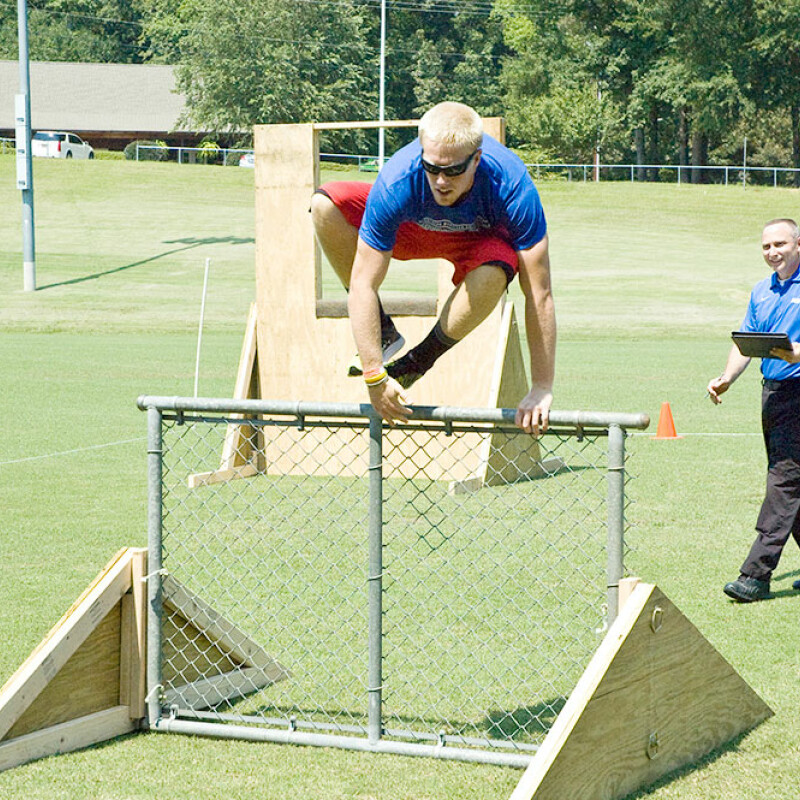Criminal Justice Course takes fitness to a new level