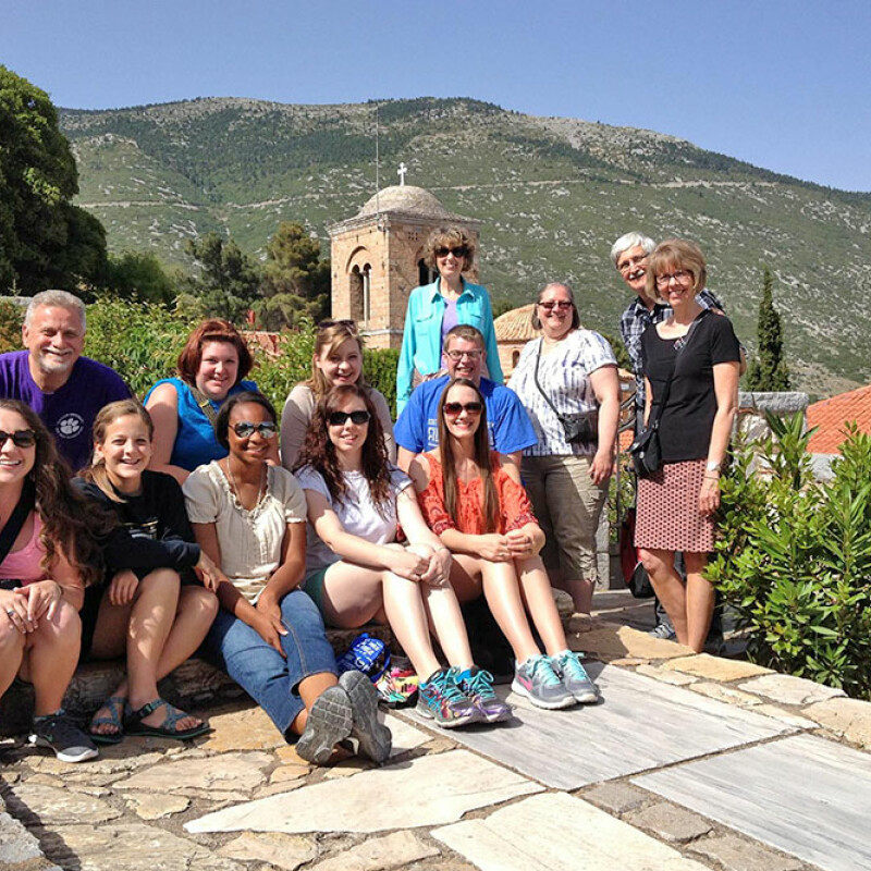 SWU students experience Greece
