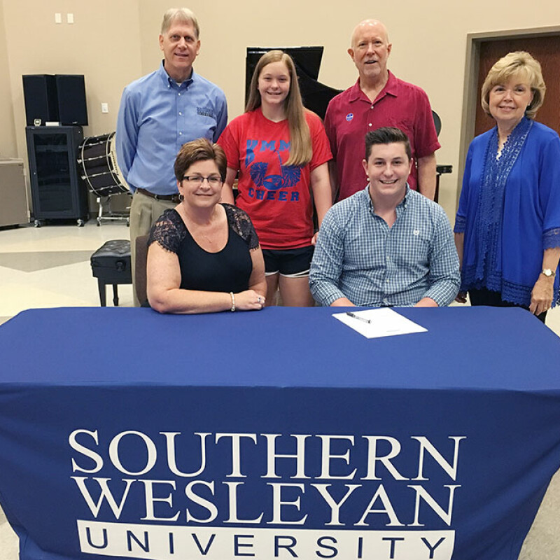 Henson receives SWU music scholarship