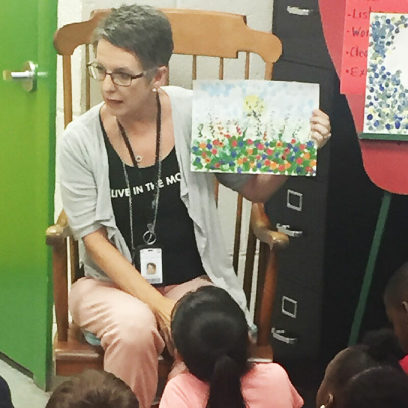 Teacher of the Year inspires students through Fine Arts