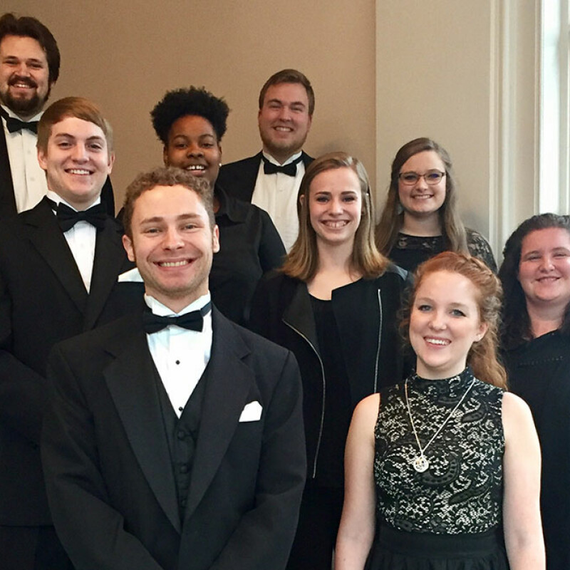 SWU students perform in 2017 Collegiate Honors Band