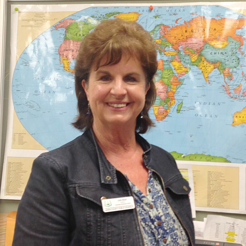 From corporate to classroom: Teacher of the Year enjoys helping others succeed