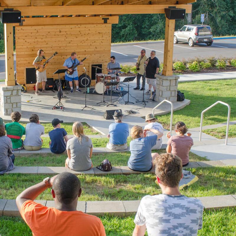 Summer Jazz at amphitheater