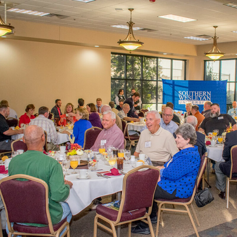 Replenish – Clergy appreciation at Southern Wesleyan University