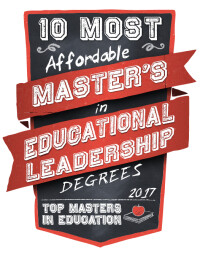 Most Affordable Master's of Educational Leadership Degrees