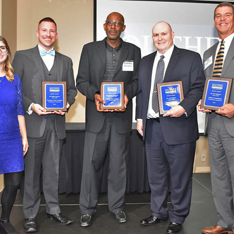 SWU recognizes outstanding alumni for 2017