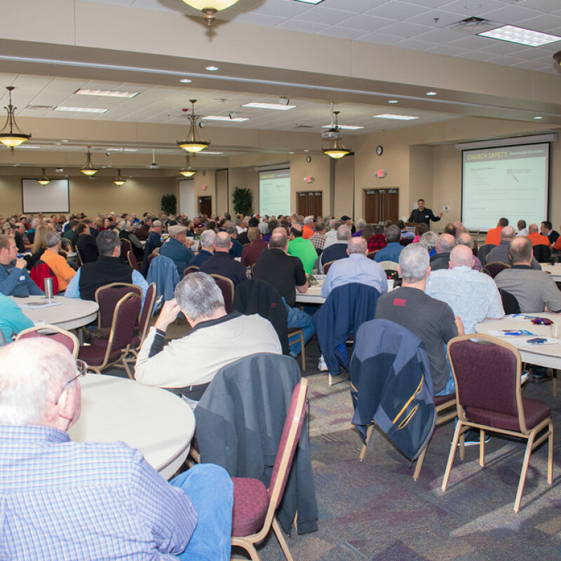 More than 300 attend seminar on church safety at SWU