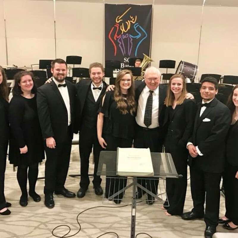 Music majors named to S.C. Collegiate Honor Band