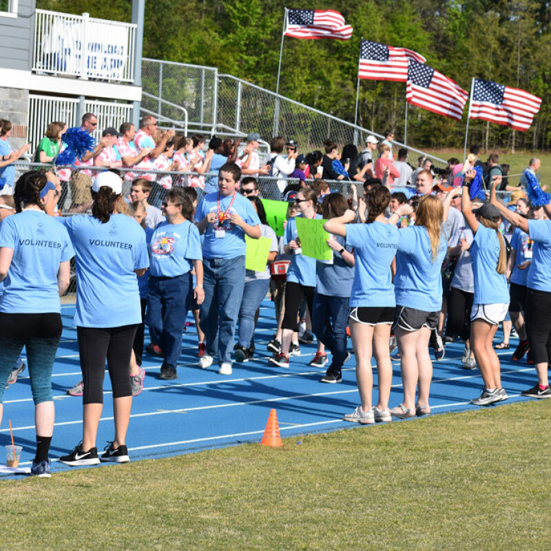 Area 14 Special Olympics at SWU draws more than 600 athletes