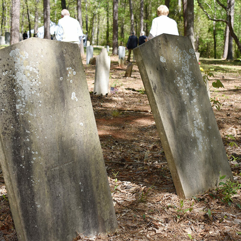 Historic cemetery now in the care of SWU