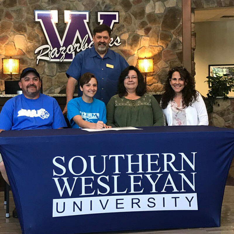 Walhalla's Knox receives SWU ensemble scholarship