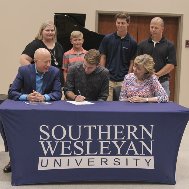 Liberty's Bledsoe receives SWU Music Ensemble Scholarship