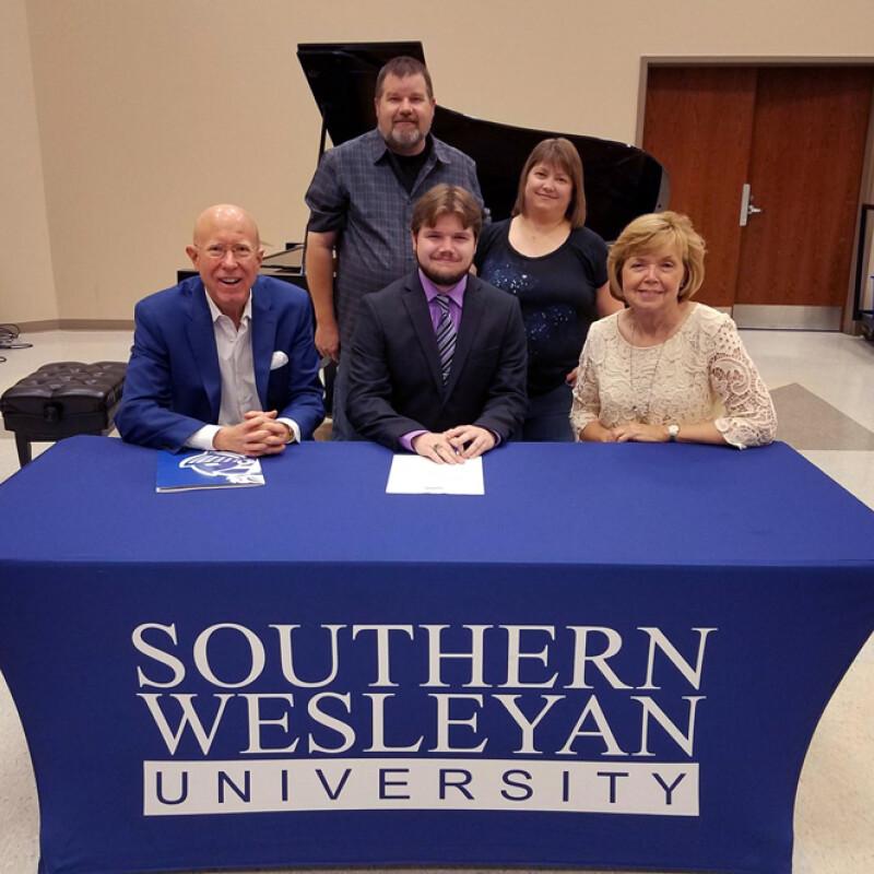 Amerson receives SWU ensemble scholarship
