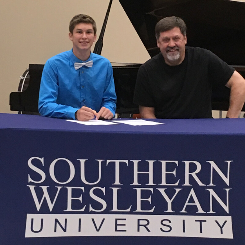 McClung receives SWU ensemble scholarship