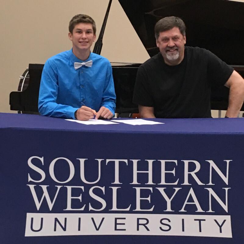 McClung receives SWU ensemble scholarship