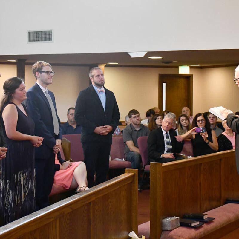 Four SWU graduates ordained