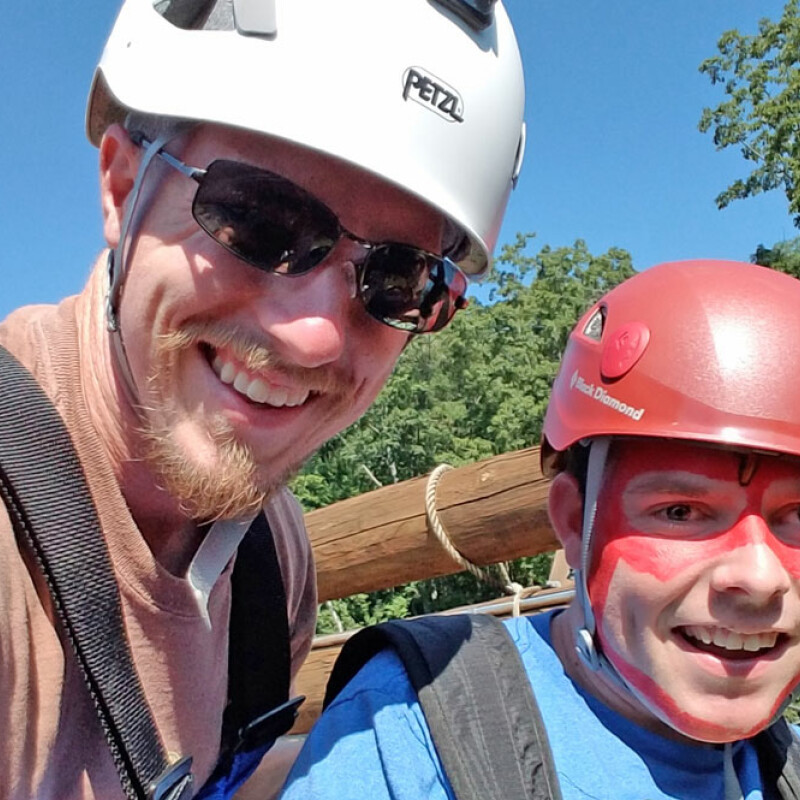 SWU graduate leads special needs individuals on adventure