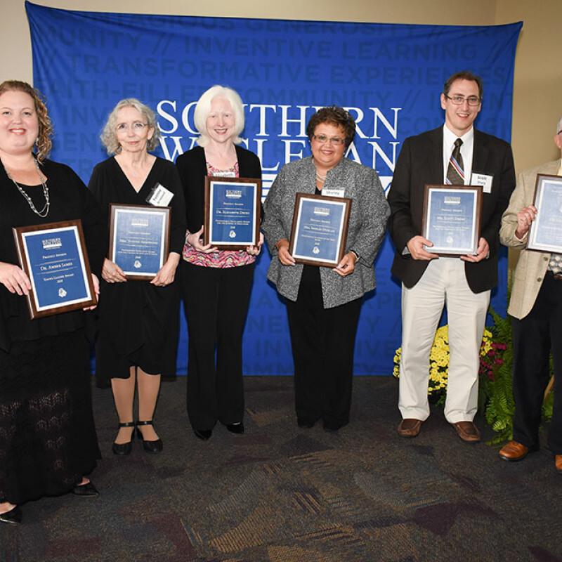 SWU recognizes 2018 outstanding alumni