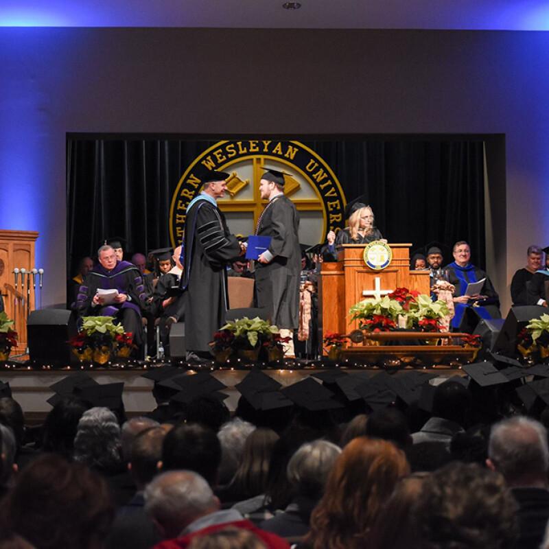 Southern Wesleyan University celebrates 2018 December graduates