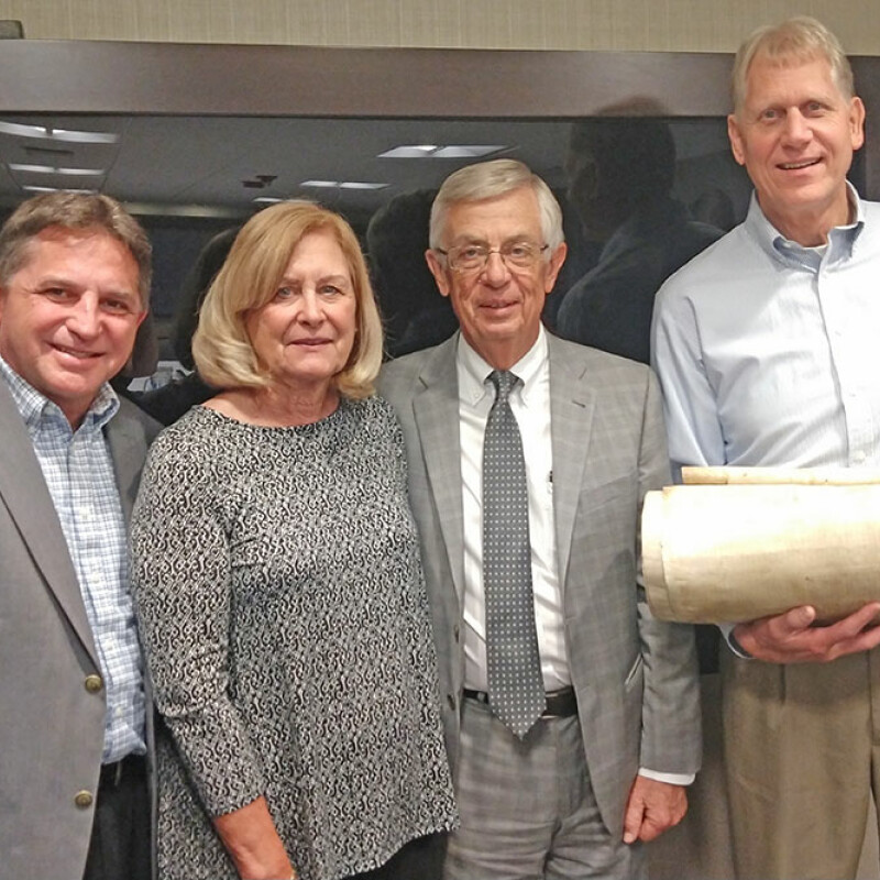 Torah Scroll donated to SWU