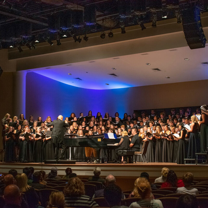 SWU hosts Western Region Honor Choir