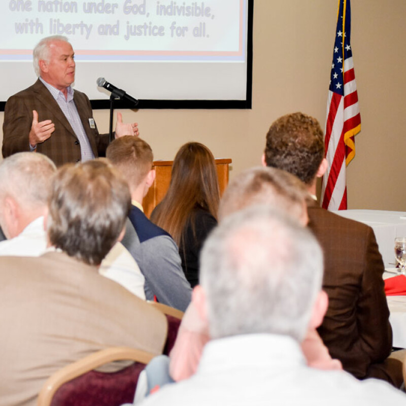 Christian Chamber chapter holds first luncheon at SWU
