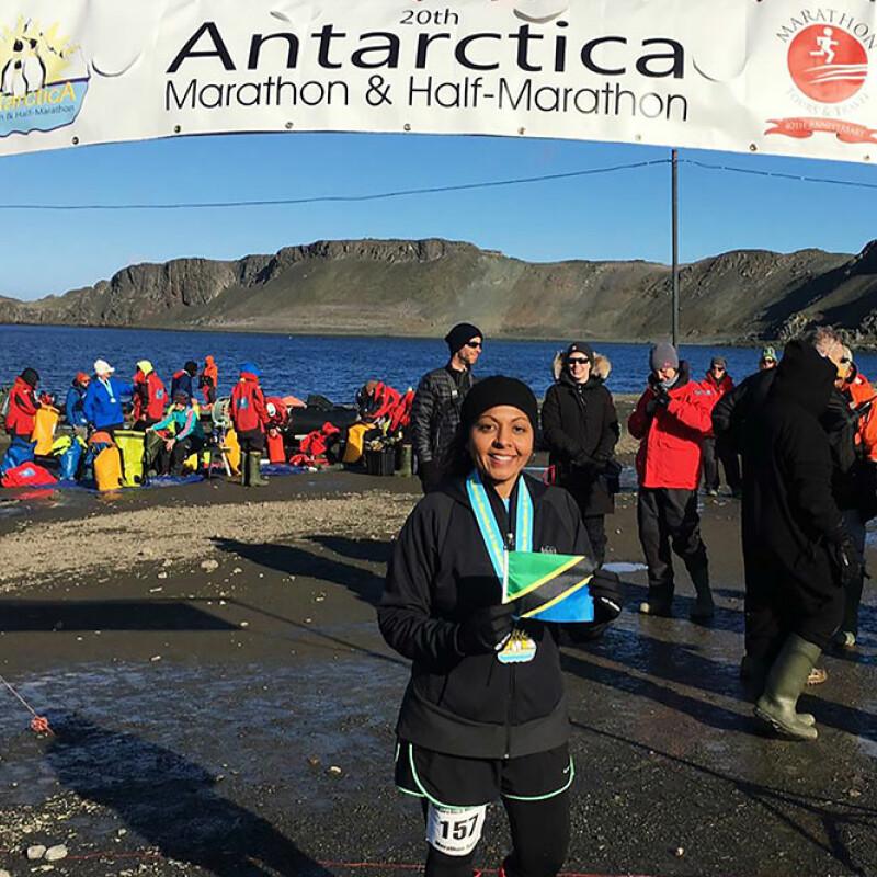 SWU alumna runs Antarctica Marathon