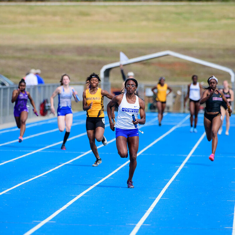 Womens Track and Field accomplishes a SWU first
