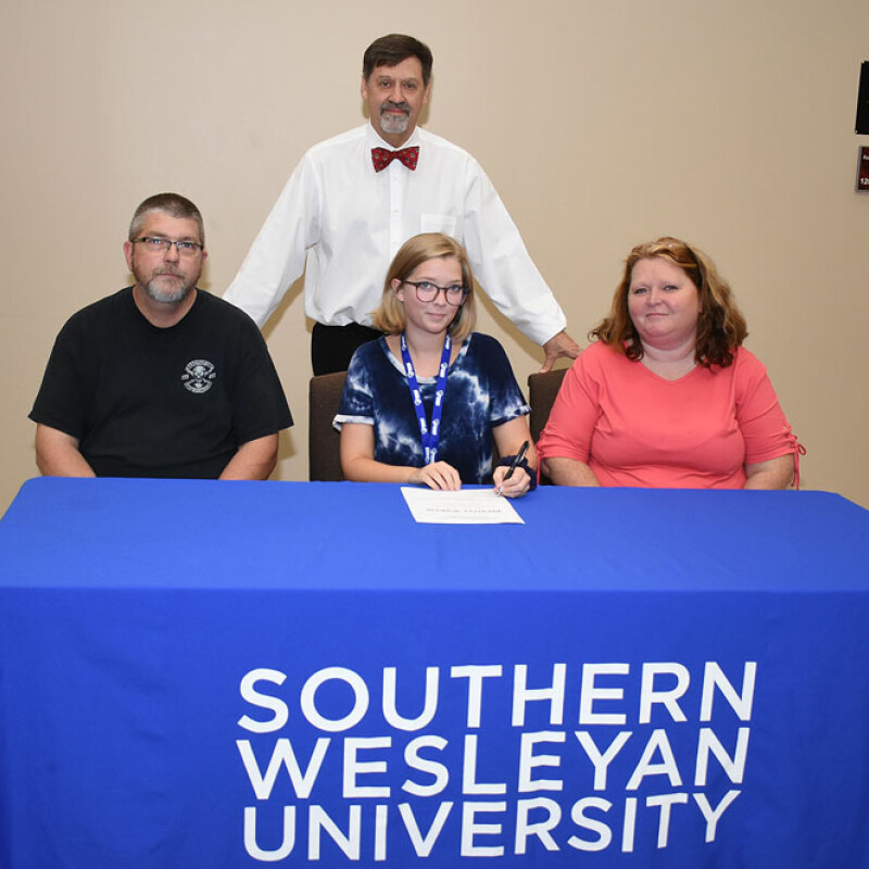 Liberty's Eskew receives SWU ensemble scholarship