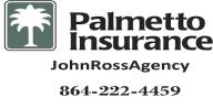 Palmetto Insurance Johnny Ross Agency