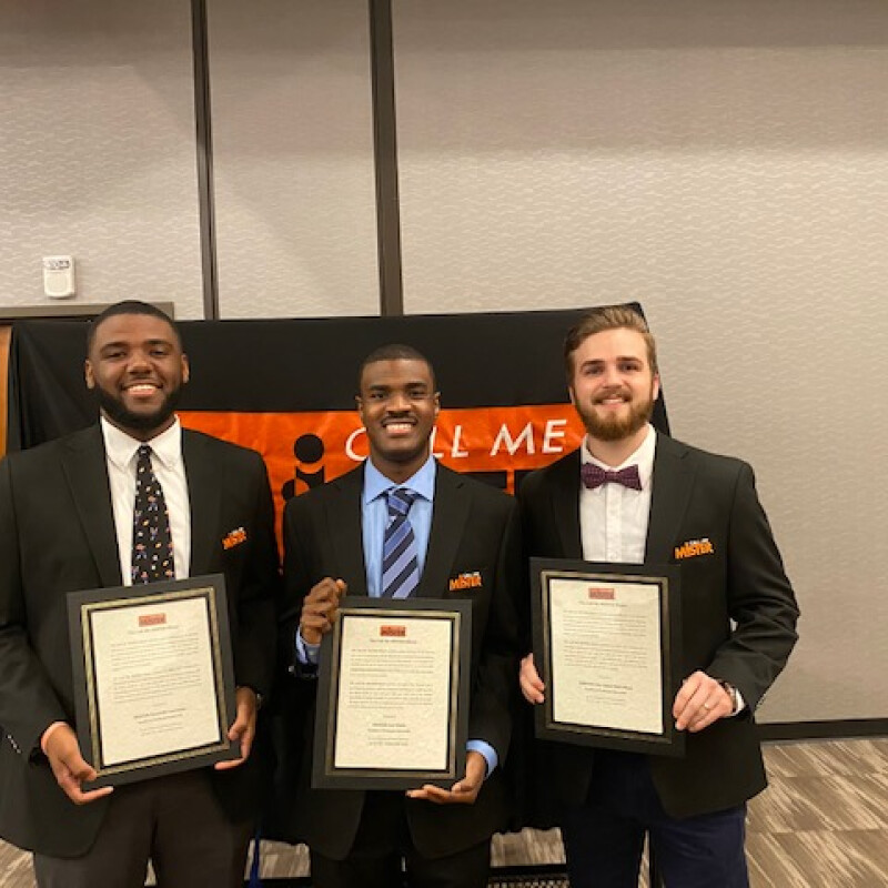 SWU Inducts Three Into Call Me Mister