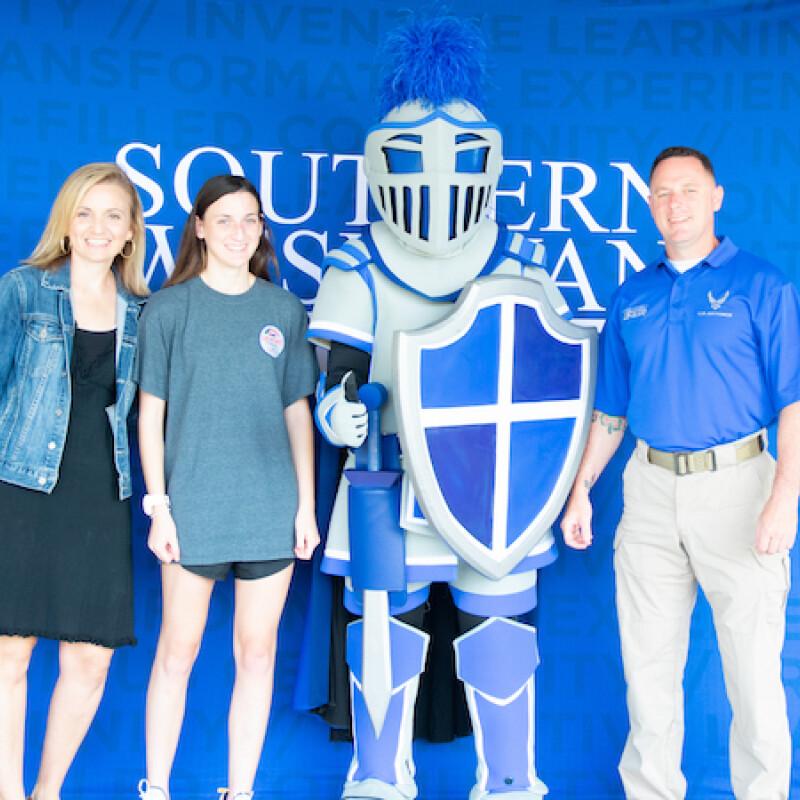 Mother Graduates SWU as Daughter Begins Freshman Year